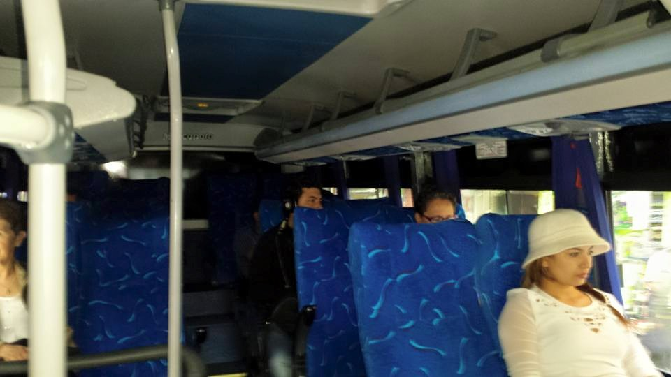 bus from the airport to Medellin