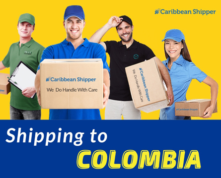 international delivery to Colombia