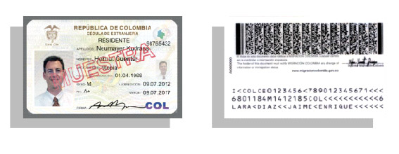 getting a cedula from Colombia