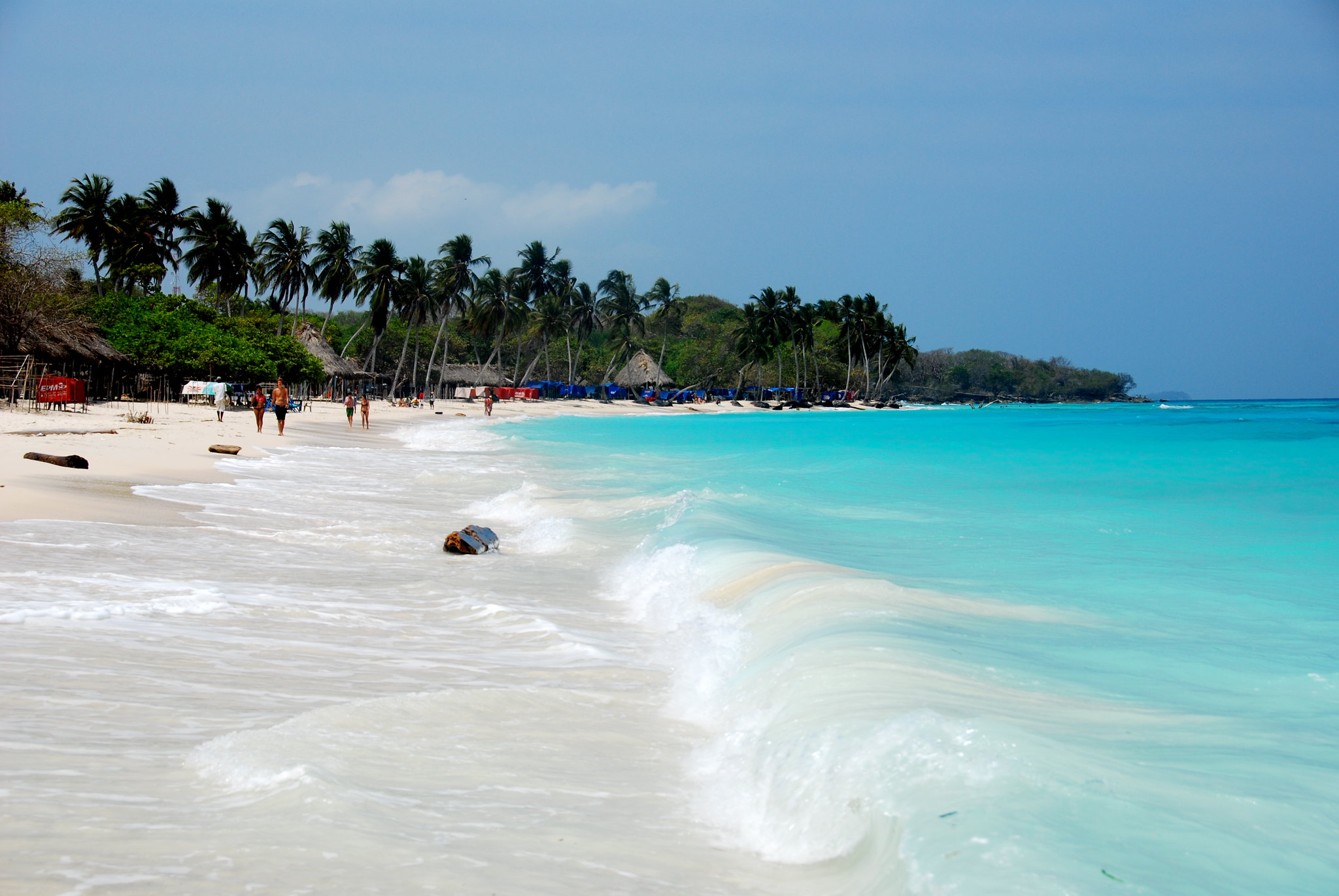 beaches near medellin la playa blanca